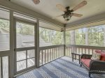 Screened Porch at 11 Wildwood